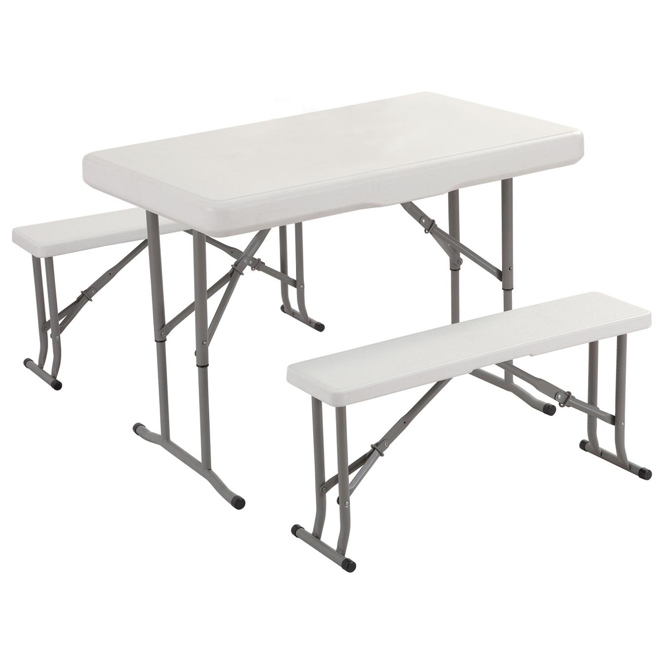 26004 Picnic Folding Table And Bench Set